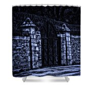 Midnight At The Prison Gates Shower Curtain