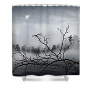 Midnight Beauty Shower Curtain