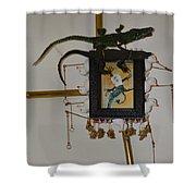 Midnight Cookies - Framed Shower Curtain