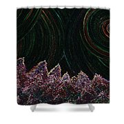 Midnight Forest By Jrr Shower Curtain