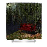 Midnight In The Garden Of Good And Evil Shower Curtain