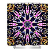 Midnight Magnetism Shower Curtain