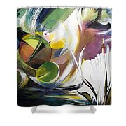 Midnight On The Bayou Shower Curtain