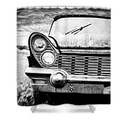 Midnight Ride Shower Curtain by Scott Pellegrin