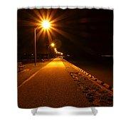 Midnight Walk Shower Curtain