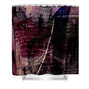 Midnights Grapes  Shower Curtain
