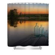 Midsummer Magic Shower Curtain