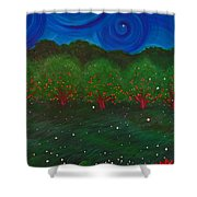 Midsummer Night By Jrr Shower Curtain