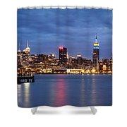 Midtown Manhattan Shower Curtain