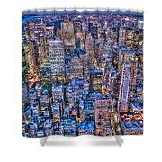 Midtown Manhattan Skyline Shower Curtain