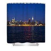 Midtown Manhattan Skyline View Shower Curtain