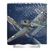 Midway Moment Shower Curtain