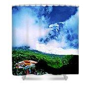 Le Milieu De Mont Blanc   Shower Curtain