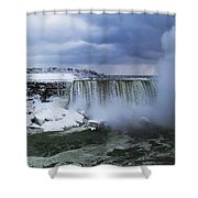 Mighty Cold Niagara Shower Curtain