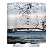 Mighty Mac Shower Curtain