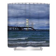 Mighty Mack Bridge Shower Curtain