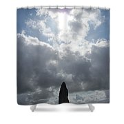 Mighty Megalith At Callanish II Shower Curtain