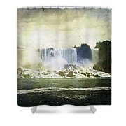 Mighty Niagara Shower Curtain