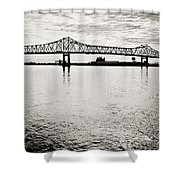 Mighty River Shower Curtain by Scott Pellegrin