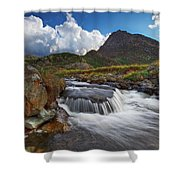 Mighty Tryfan  Shower Curtain