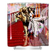 Mighty Woman Of God Shower Curtain
