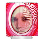 Migraine Shower Curtain
