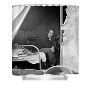 Migrant Worker, 1936 Shower Curtain
