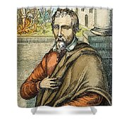 Miguel Serveto (1511-1553) Shower Curtain