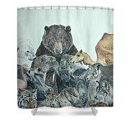 Mika Animals Shower Curtain