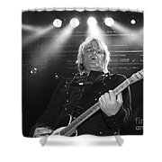 Mike Peters The Alarm By Diana Sainz Shower Curtain