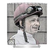 Mike Smith Portrait Shower Curtain