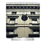 Milan Building Shower Curtain