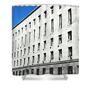 Milan Courthouse Building Shower Curtain