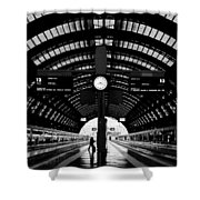 Milano Centrale - Train Station Shower Curtain