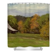 Mildred Kanipe Equestrian Park Shower Curtain