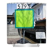 Mile Marker 579.5 Shower Curtain