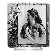 Milena Vukotic (1847-1923) Shower Curtain