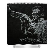 Miles Shower Curtain by Chris Mackie