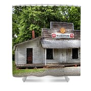 Miles Country Store Shower Curtain