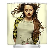 Miley Cyrus  Shower Curtain