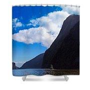 Milford Sound #3 Shower Curtain