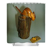 Mouse Trap Shower Curtain