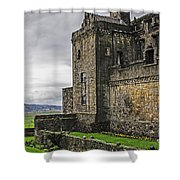 Military Fortress Shower Curtain