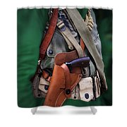 Military Small Arms 02 Ww II Shower Curtain