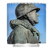 Military Soldier Shower Curtain