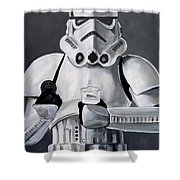 Milk And Cookies Shower Curtain