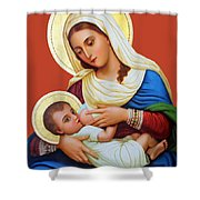Milk Grotto Icon Shower Curtain