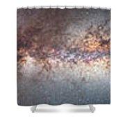Milky Way 360� Panorama Shower Curtain