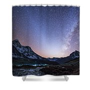Milky Way And Zodiacal Light Ove Shower Curtain
