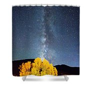 Milky Way October Sky Shower Curtain by James BO  Insogna